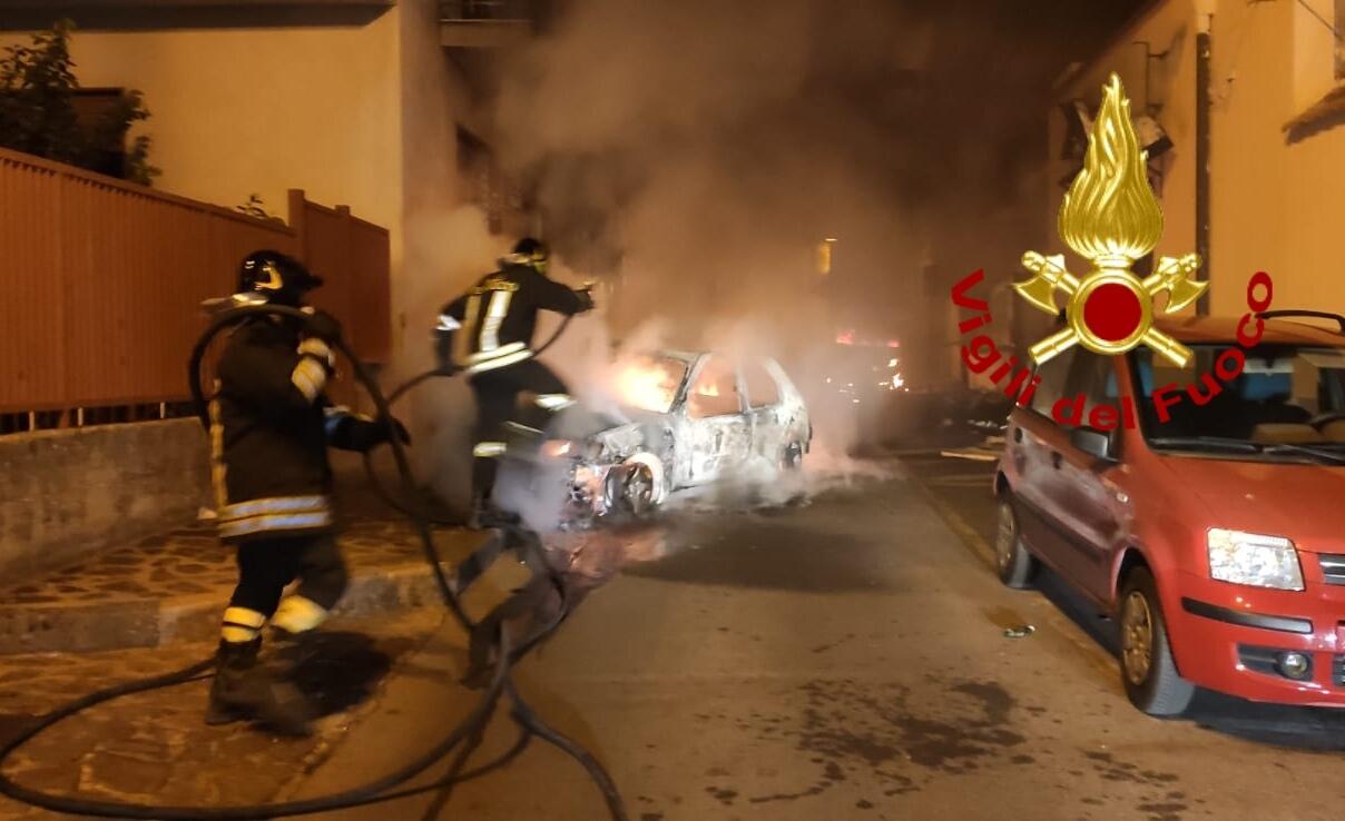 auto incendiate baino