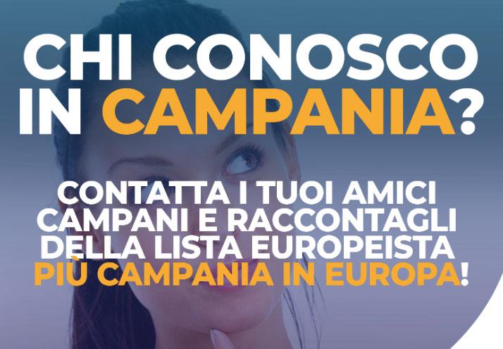 piu campania in europa