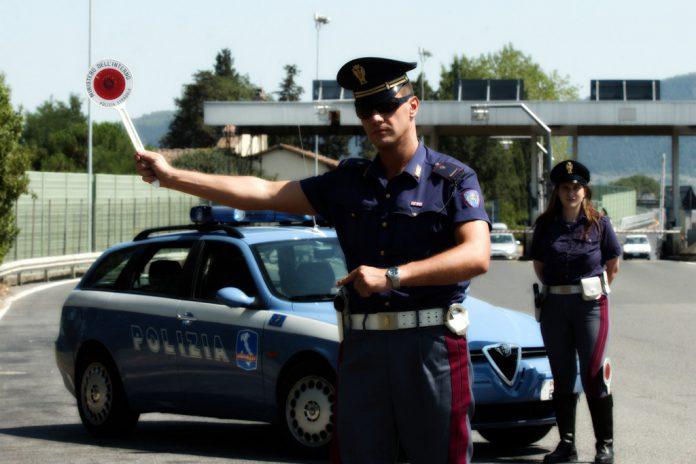 sorrento alt polizia