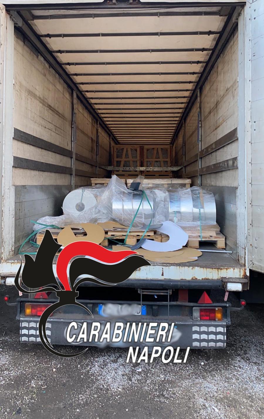 20 tonnellate di alluminio