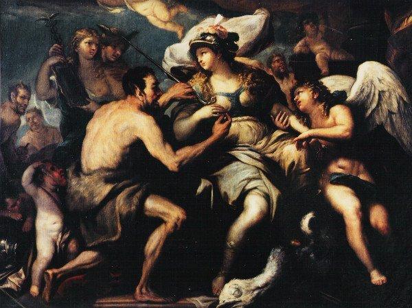 Napoli mostra Luca Giordano