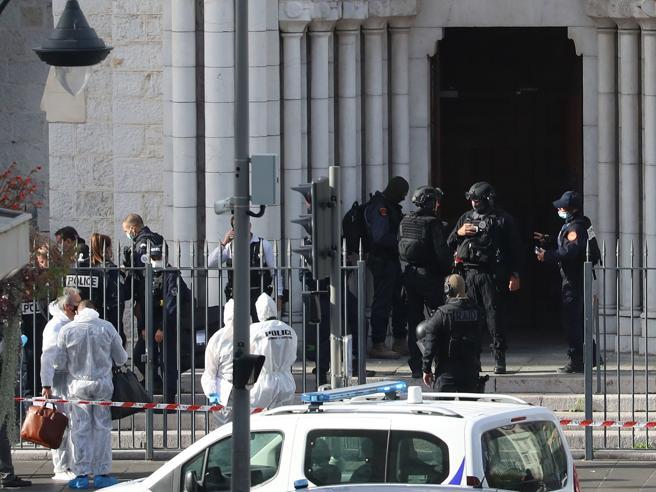 Attentato in cattedrale a Nizza