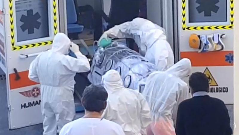 campania,scoppiata pandemia
