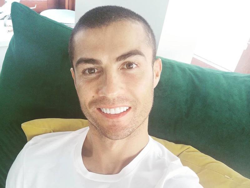 Ronaldo guarito dal covid