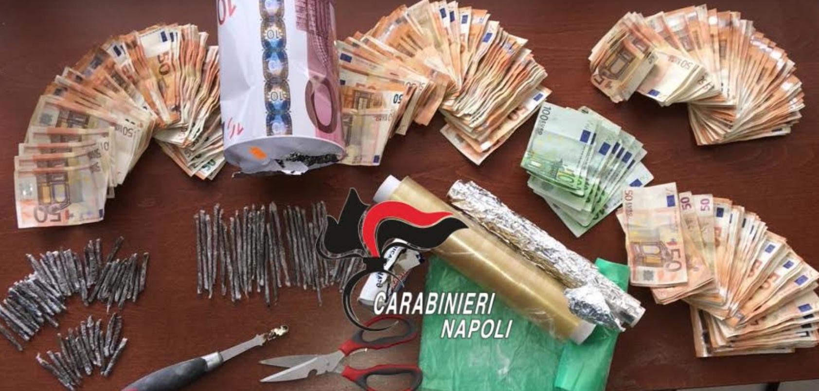 Pozzuoli droga nascosta nella statua della Madonna a Monterusciello