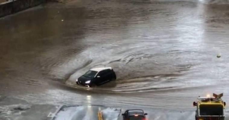 maltempo in Campania, Arriva il maltempo in Campania: weekend con piogge, vento e neve
