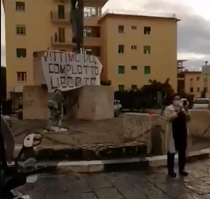 manifestazione lockdown ercolano