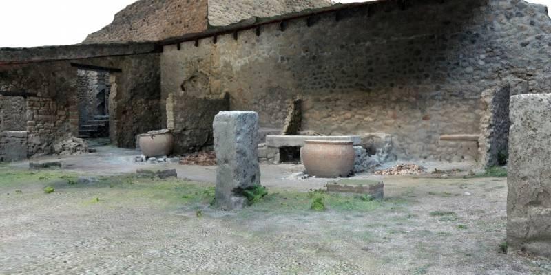 pompei conceria restauro