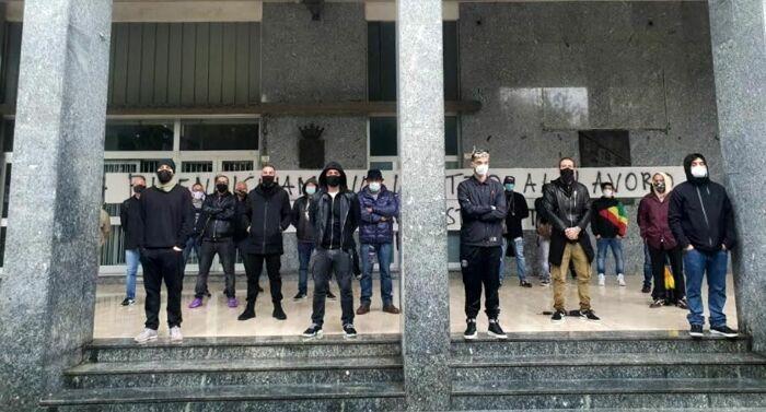 protesta esercenti caserta