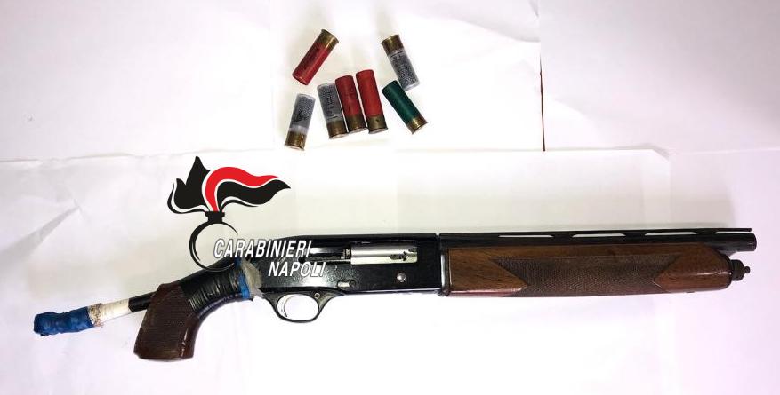 fucile a canne mozze a giugliano