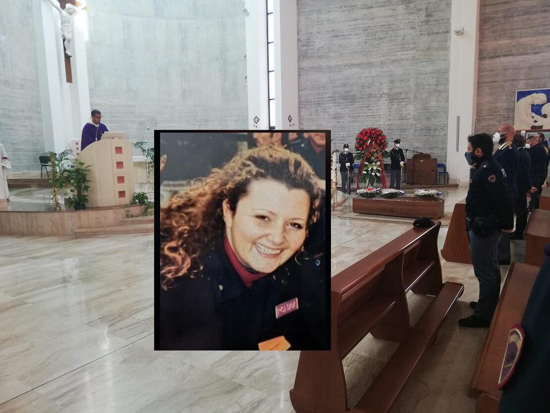 Napoli,covid,poliziotta morta