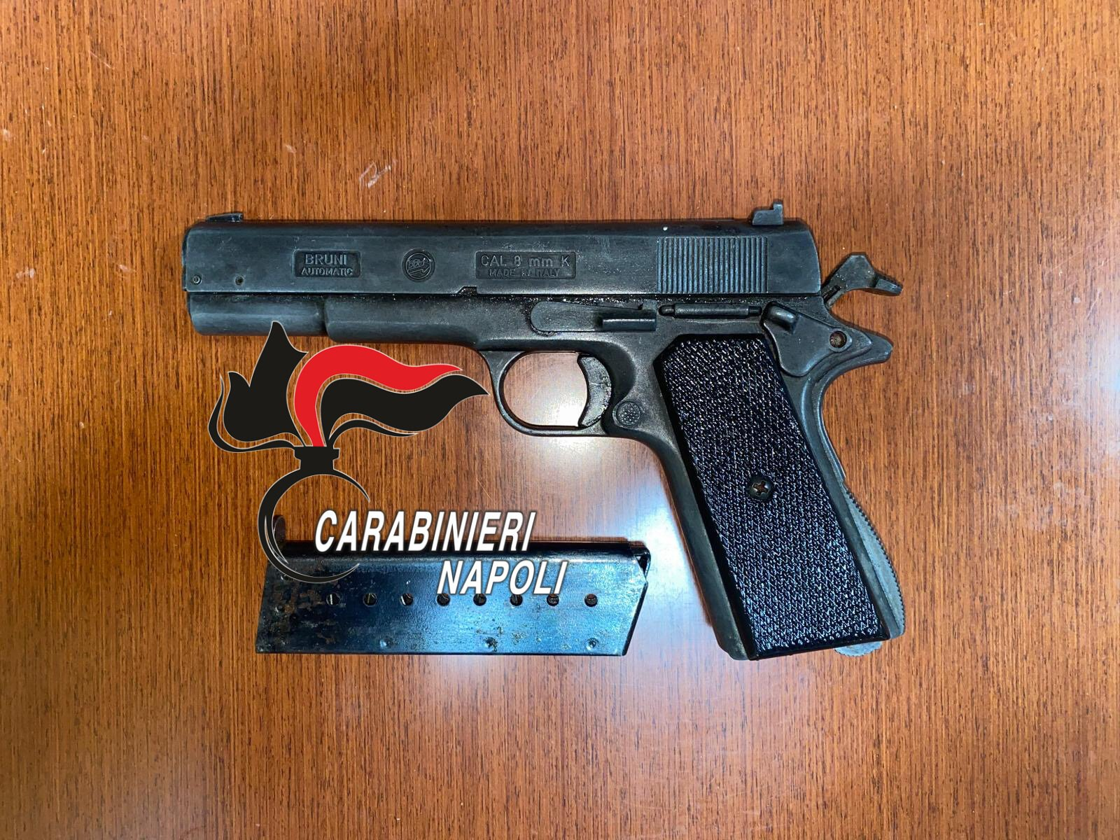 arzano,sequestrata pistola