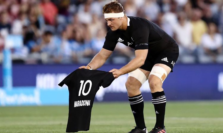 all blacks maradona