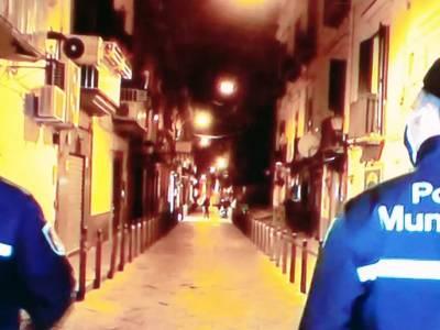 A Napoli 76 persone denunciate