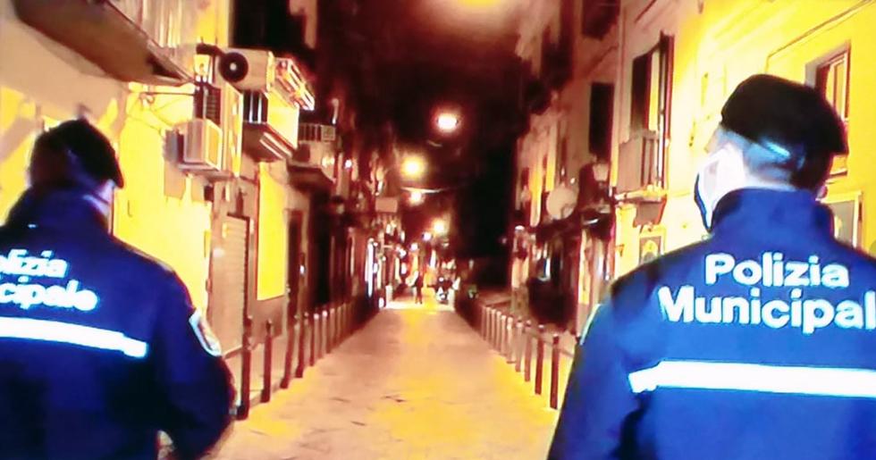 Napoli,persone denunciate