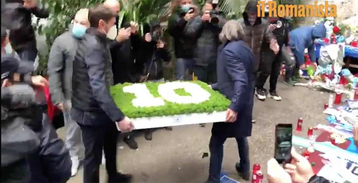 Bruno Conti,Maradona,cento rose bianche