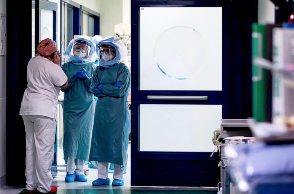 Muore di covid dipendente dell'ospedale di Aversa