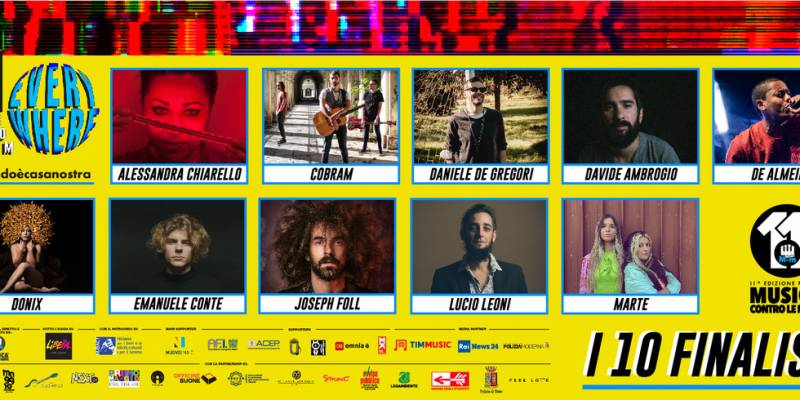 finalisti musica contro le mafie