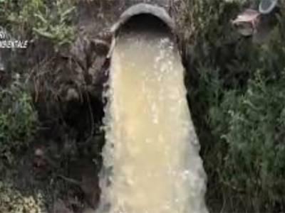 foto inquinamento fiume sarno