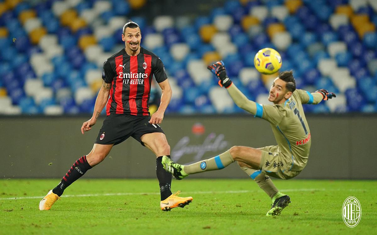 Lesione alla coscia per Ibrahimovic