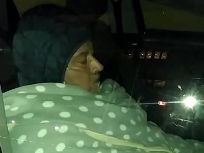 Da 8 ore in auto con l'ossigeno