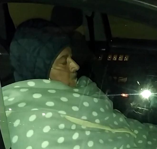 8 ore in auto con l'ossigeno,ospedale san leonardo,castellammare di stabia
