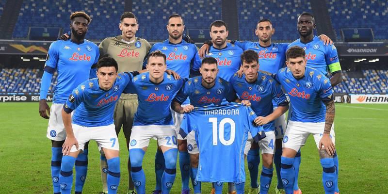 Napoli tamponi squadra