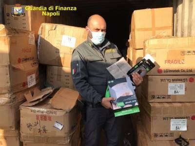 Sequestrati a Gianturco 11.690 tra dispositivi sanitari