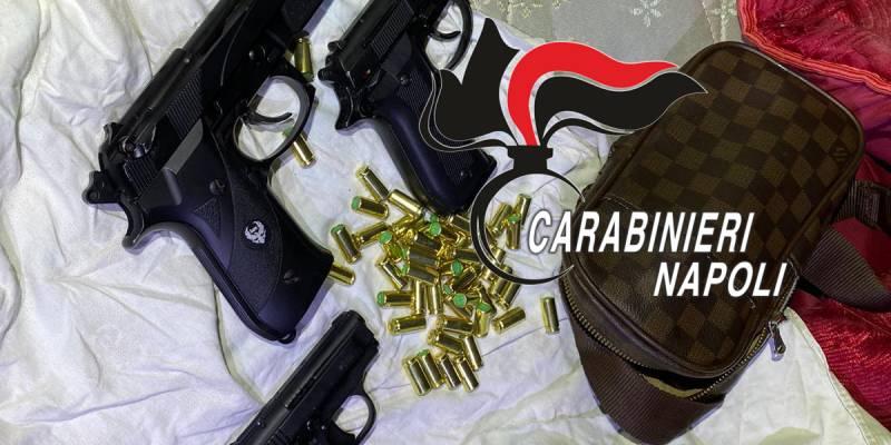 chiaiano 3 pistole, Blitz dei carabinieri a Chiaiano: recuperate 3 pistole e munizioni