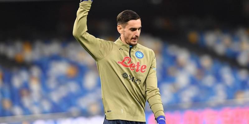 Meret: 'E' bello essere un calciatore del Napoli', Meret: 'E' bello essere un calciatore del Napoli'