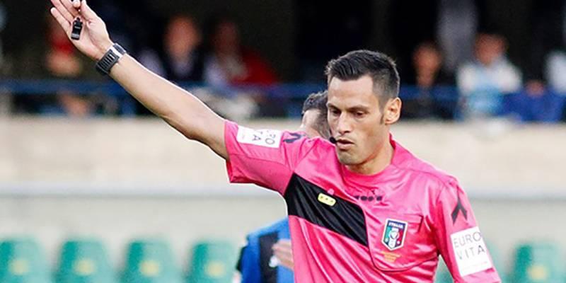 L'arbitro Mariani per Napoli-Spezia