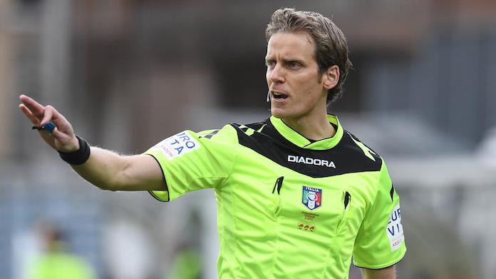 Arbitri serie A Chiffi per Napoli-Fiorentina, Arbitri serie A: Chiffi per Napoli-Fiorentina derby Lazio-Roma a Orsato, Inter-Juve a Doveri