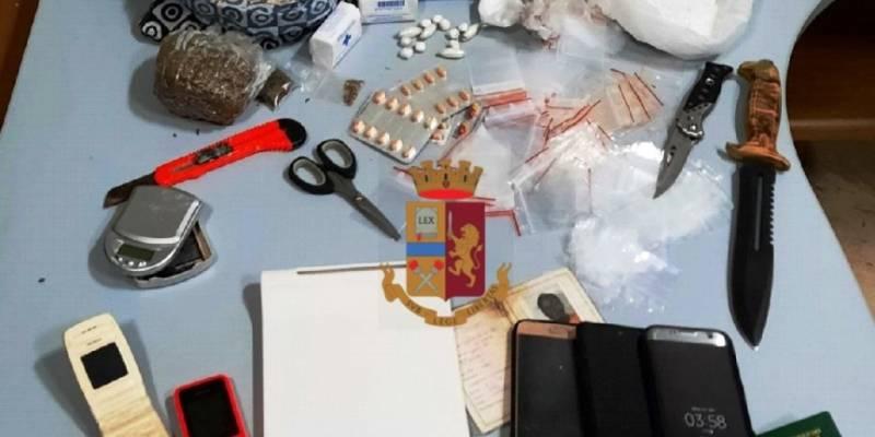 Napoli droga Porta Nolana arrestati due migranti, Napoli, sorpresi con droga in casa a Porta Nolana: arrestati due migranti