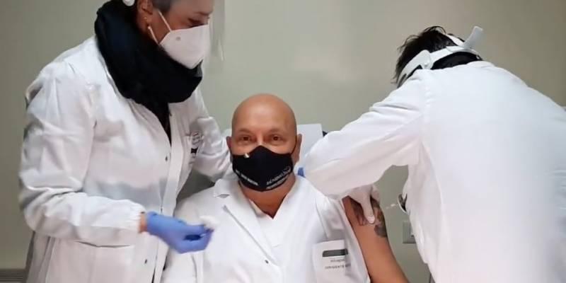 Parte vaccinazione ospedale Boscotrecase