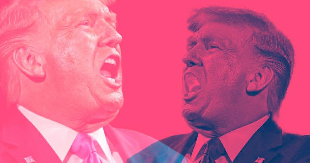 bloccato Trump