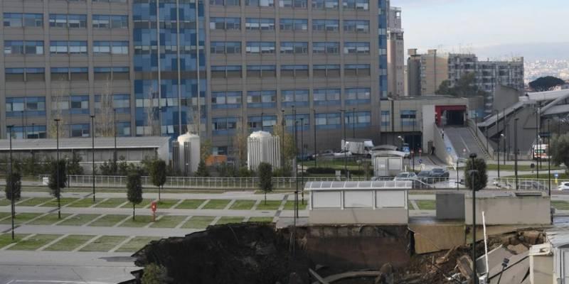 ospedale del Mare la Procura indaga per disastro colposo