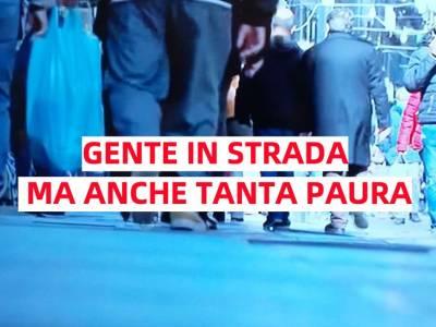 napoli gente in strada, Napoli, gente in strada ma senza criticità