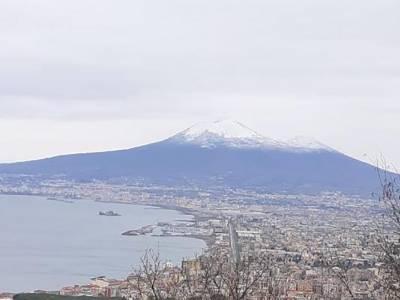 vesuvio neve_maltempo Campania