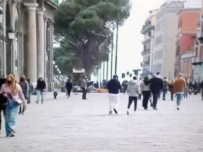 zona rossa, Napoli, parte la zona rossa: poca gente in strada e niente traffico