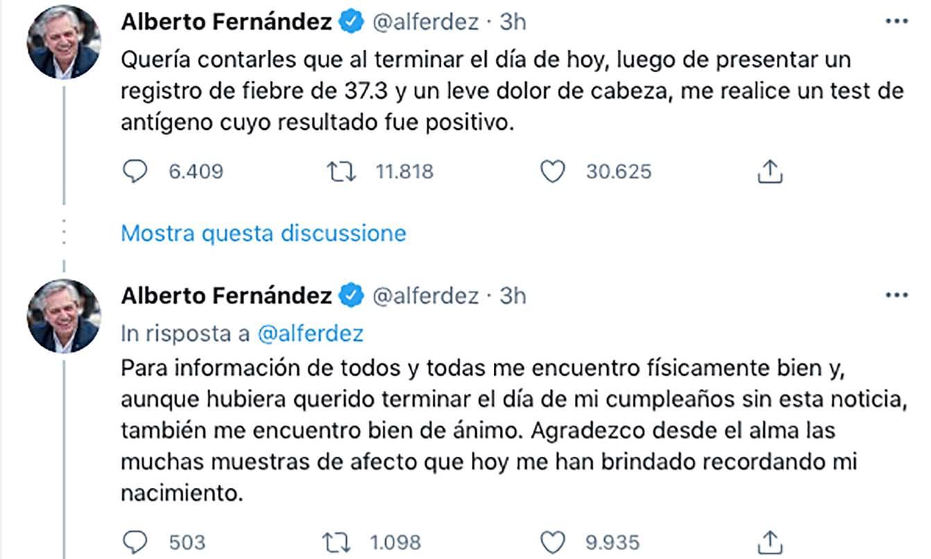 tweet Fernandez