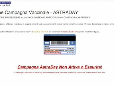astra day portale in tilt asl ce