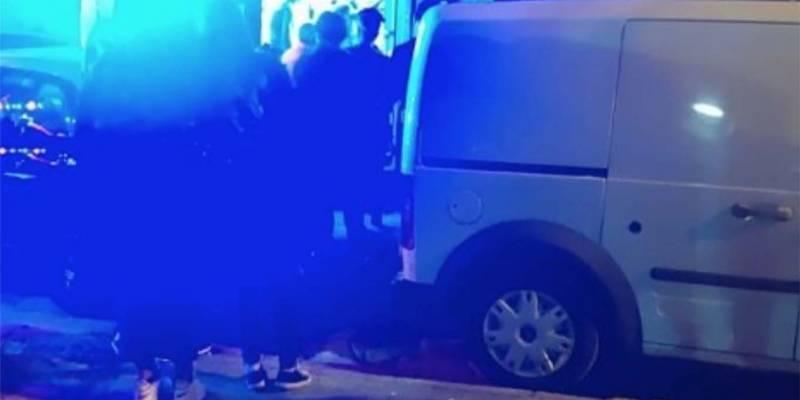 ambulanza carabinieri notte