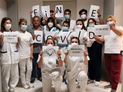 chiude Covid Hospital Melorio
