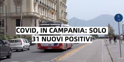 covid 31 positivi campania