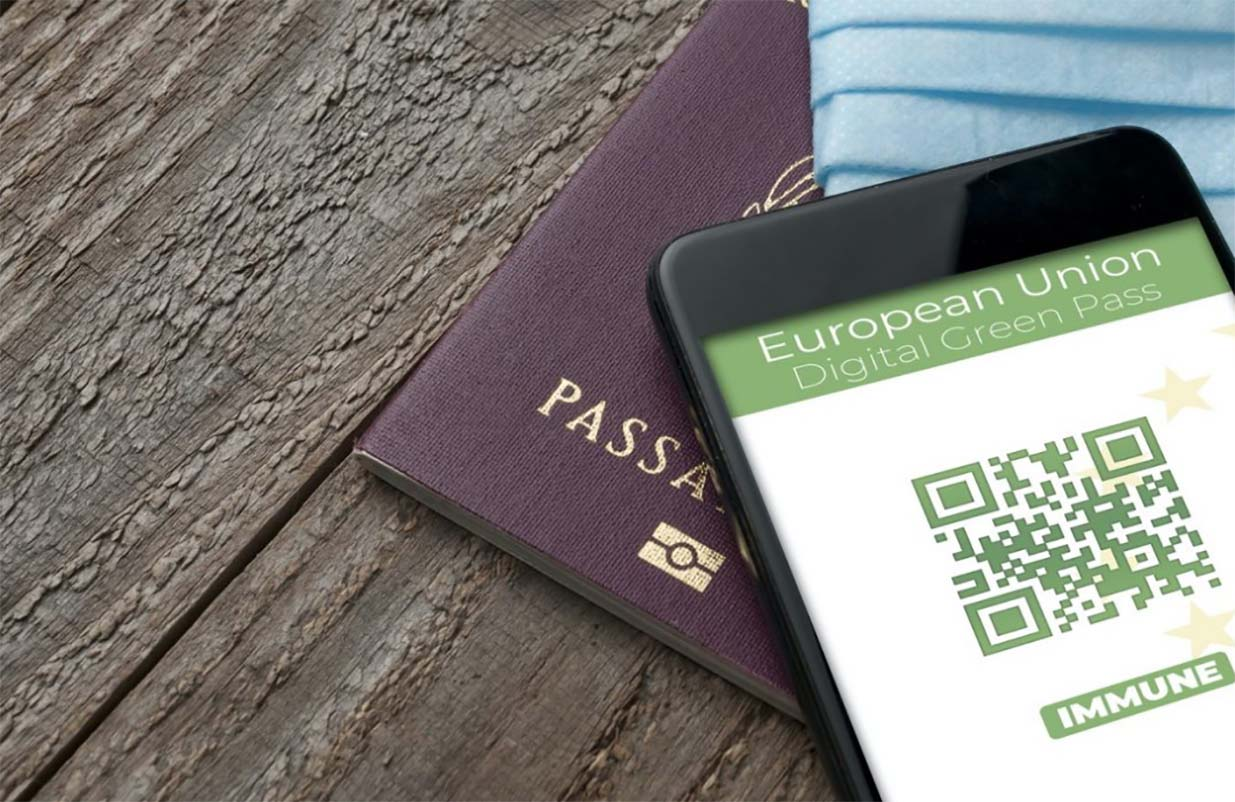 passaporto green europa