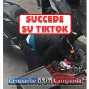 tiktok video scooter
