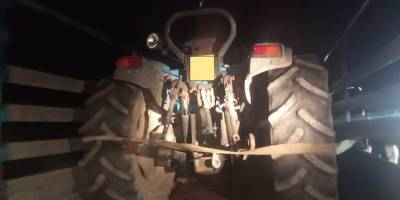 trattore rubato
