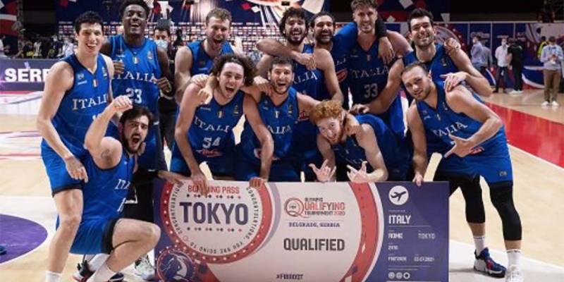 Italbasket alle Olimpiadi dopo 17 anni