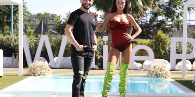 Raffaella Fico e Gigi Soriani