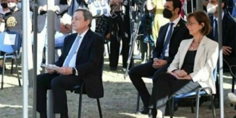 Il premier Draghi e il ministro Cartabia